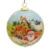 "Santa Safari - 3"" Ornament Set of 2"