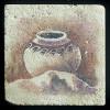 """Ancient Pottery #2 4""""x4"""" Deco Tile"""