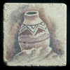 """Ancient Pottery #4 4""""x4"""" Deco Tile"""