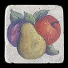"Rustic Fruit 4""x4"" Deco Tile"