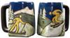 Mara Square Mug 12oz - Skiers