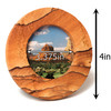 Round Sandstone Picture Frame
