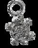 Turtle Fetish Mini Keychain