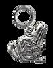 Coyote Fetish Mini Keychain