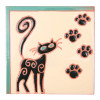 Cat Paws Trivet
