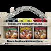 Salsa Wooden Crate Gift Set