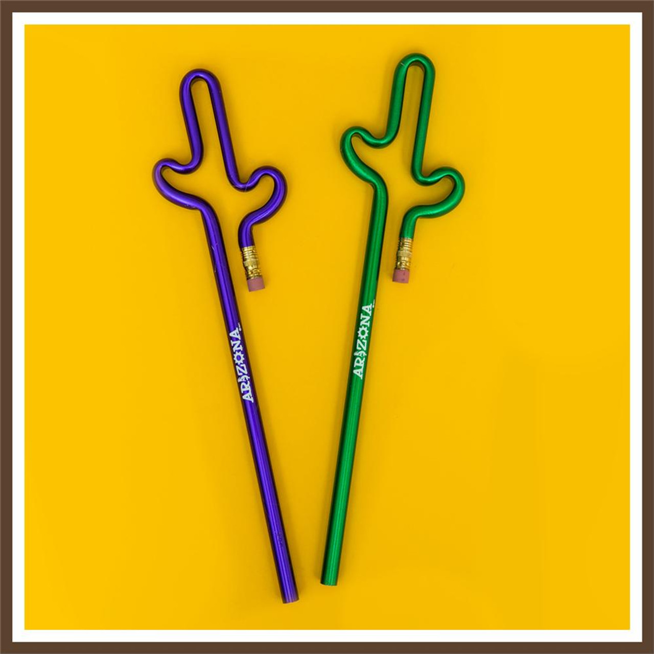 Cactus Pencil AZ Multi Color