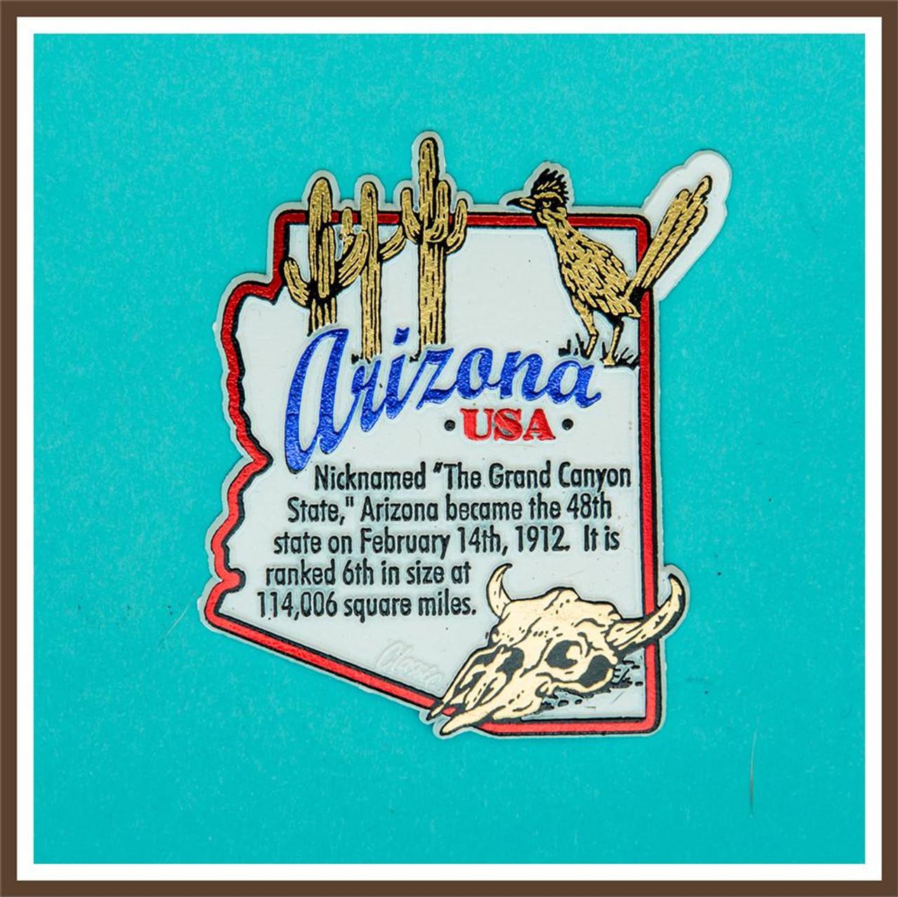 AZ History Magnet