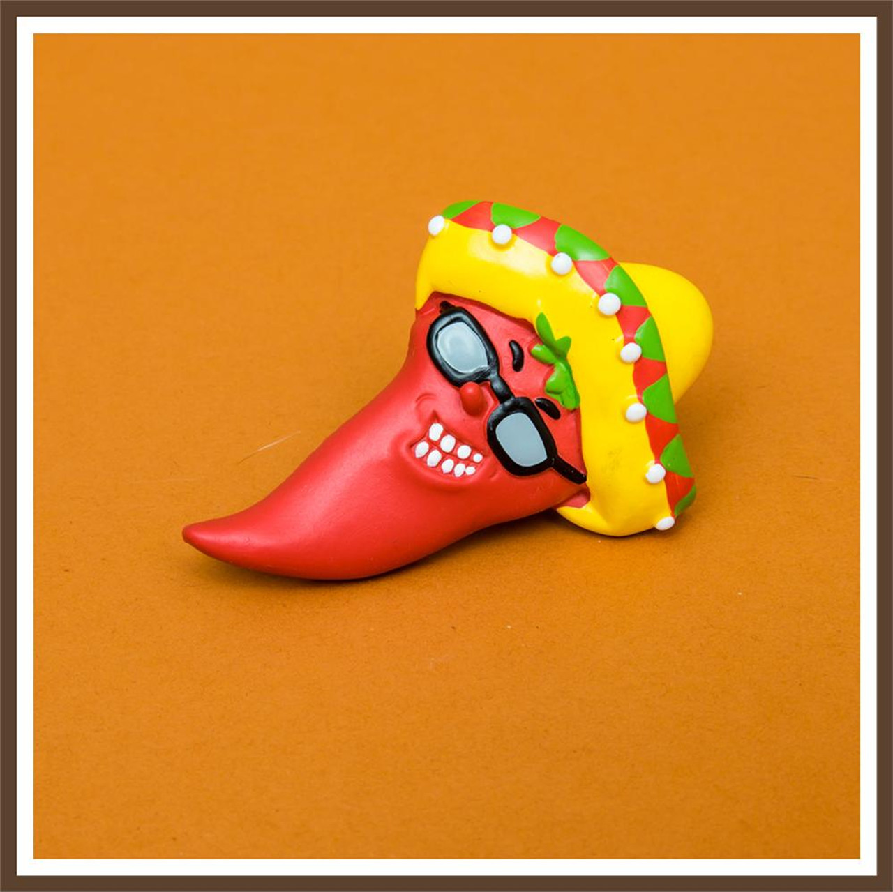 Sunglass Chili Pepper Magnet
