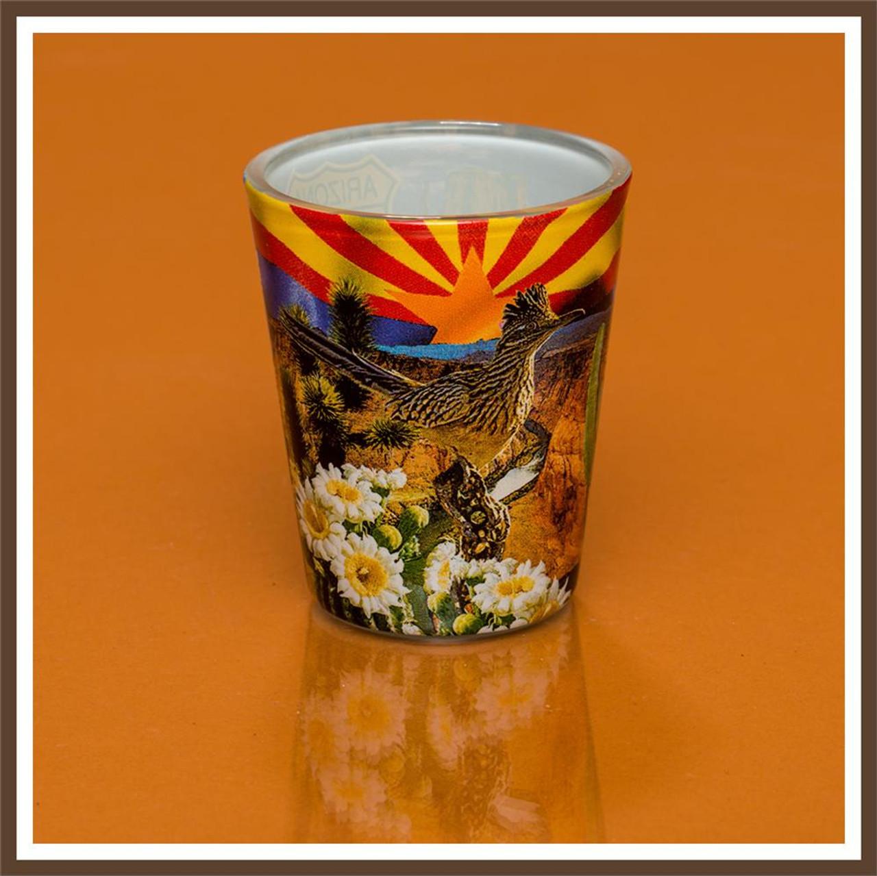AZ Collage Shotglass
