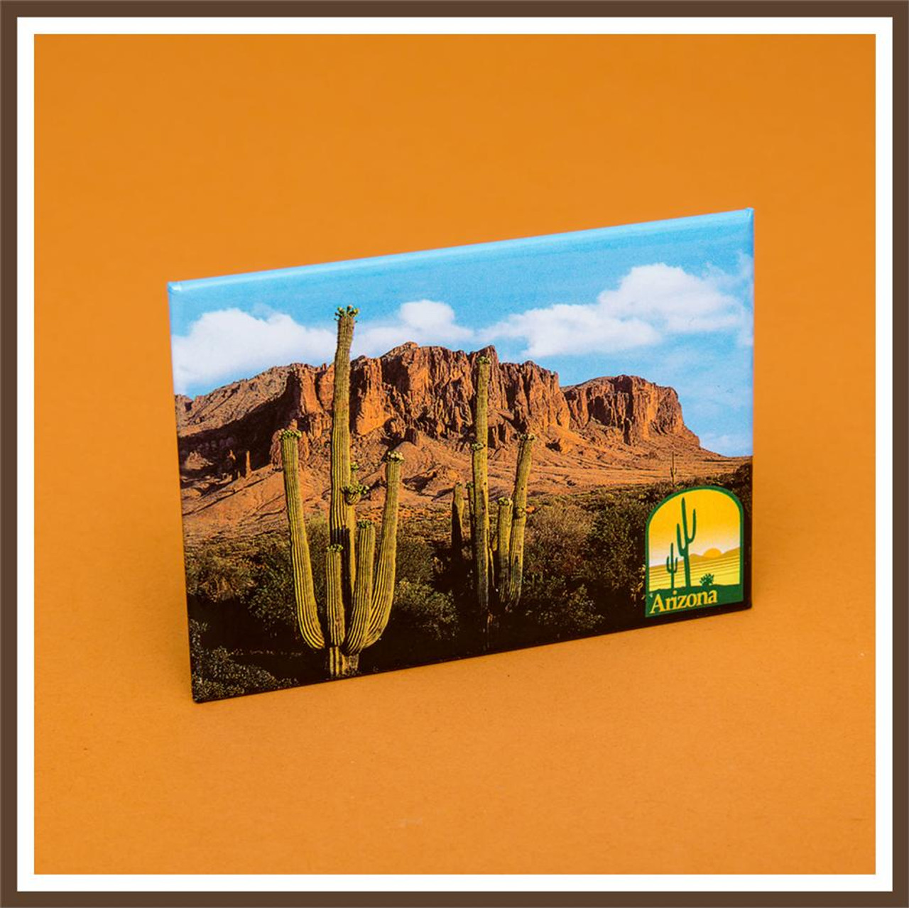 Supersitition Mountains Magnet