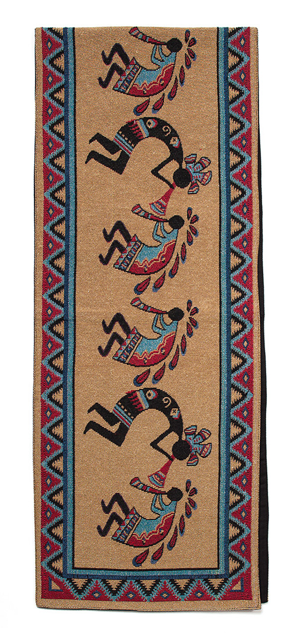 Three Kokopellies Tablerunner