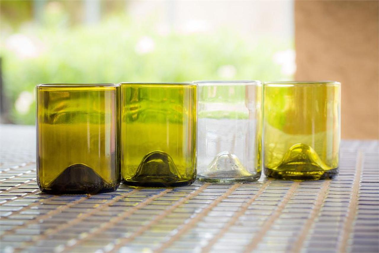 Refresh Glass 12oz Tumblers - Set of 4