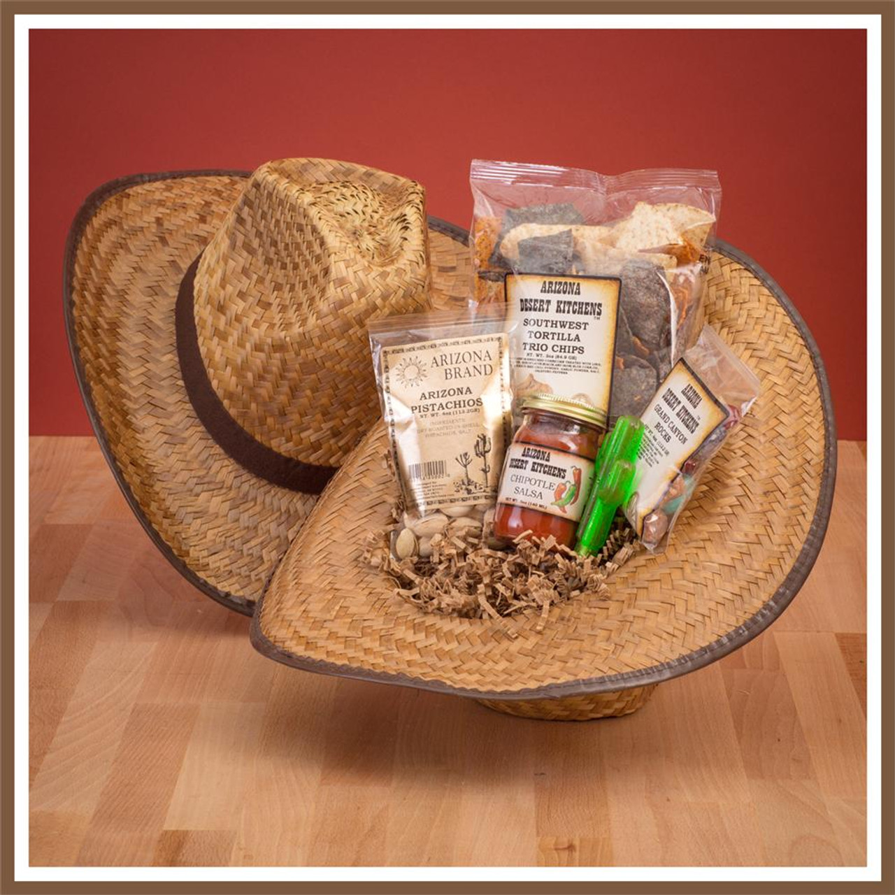 mixed southwest snacks basket