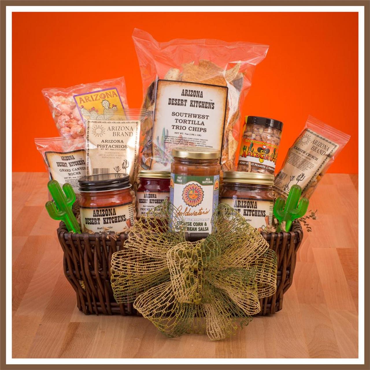large southwest gift basket