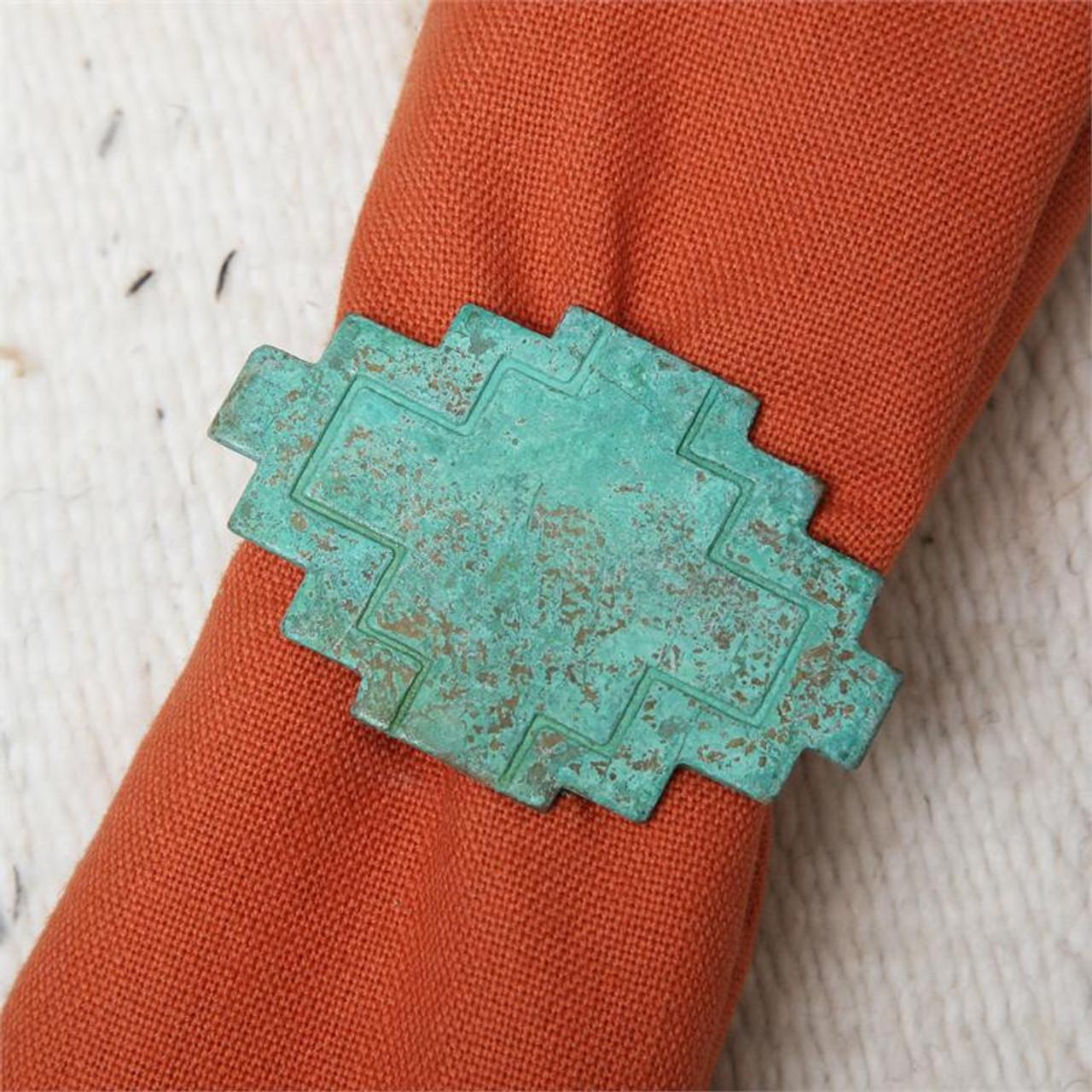 Adobe Patina Napkin Ring