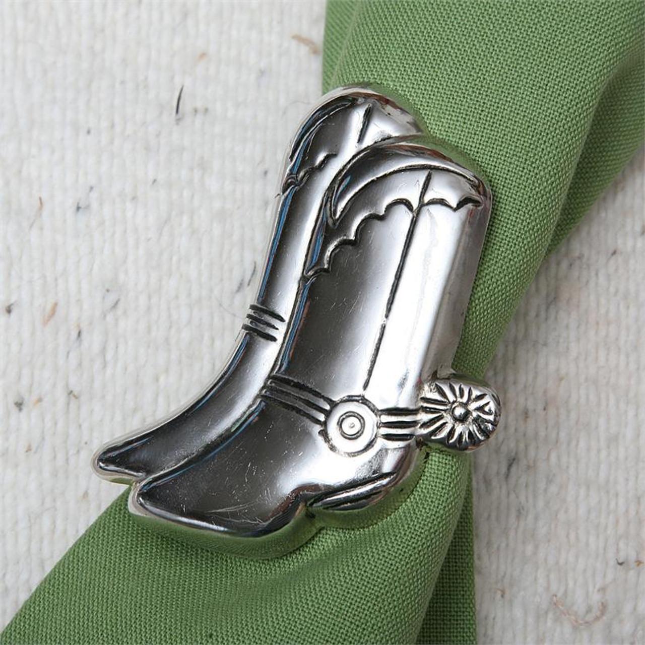 Cowboy Boots Napkin Ring