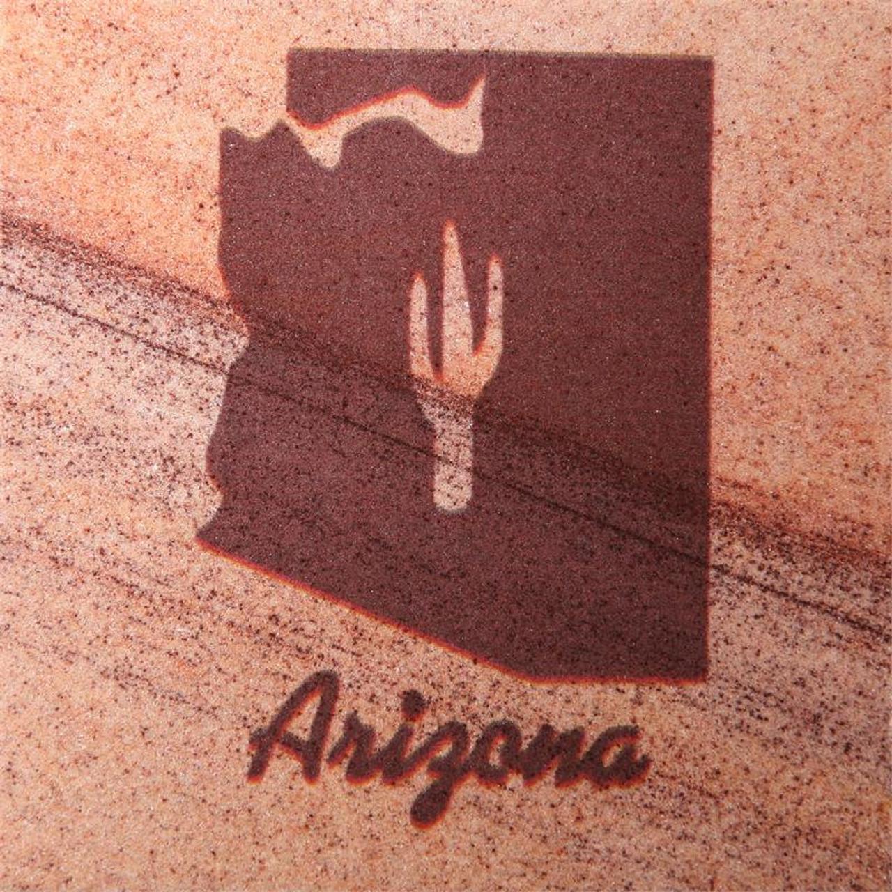 Arizona State Coasters - Set of 4