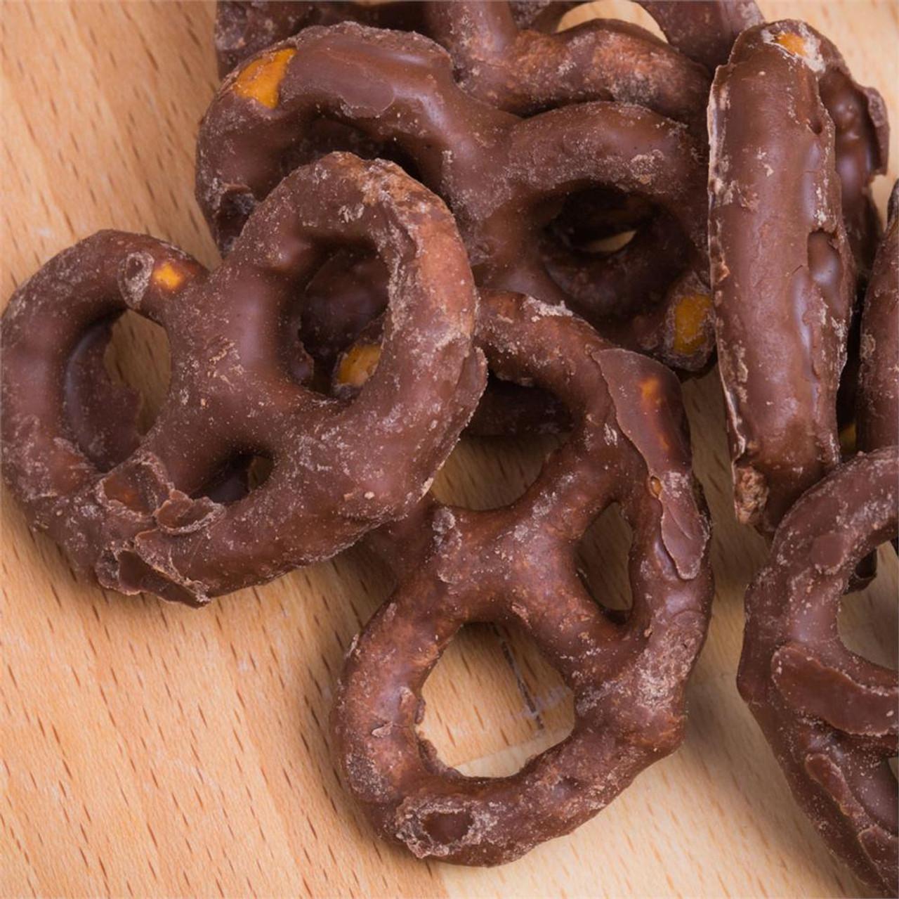 Chocolate Covered Pretzels 4oz