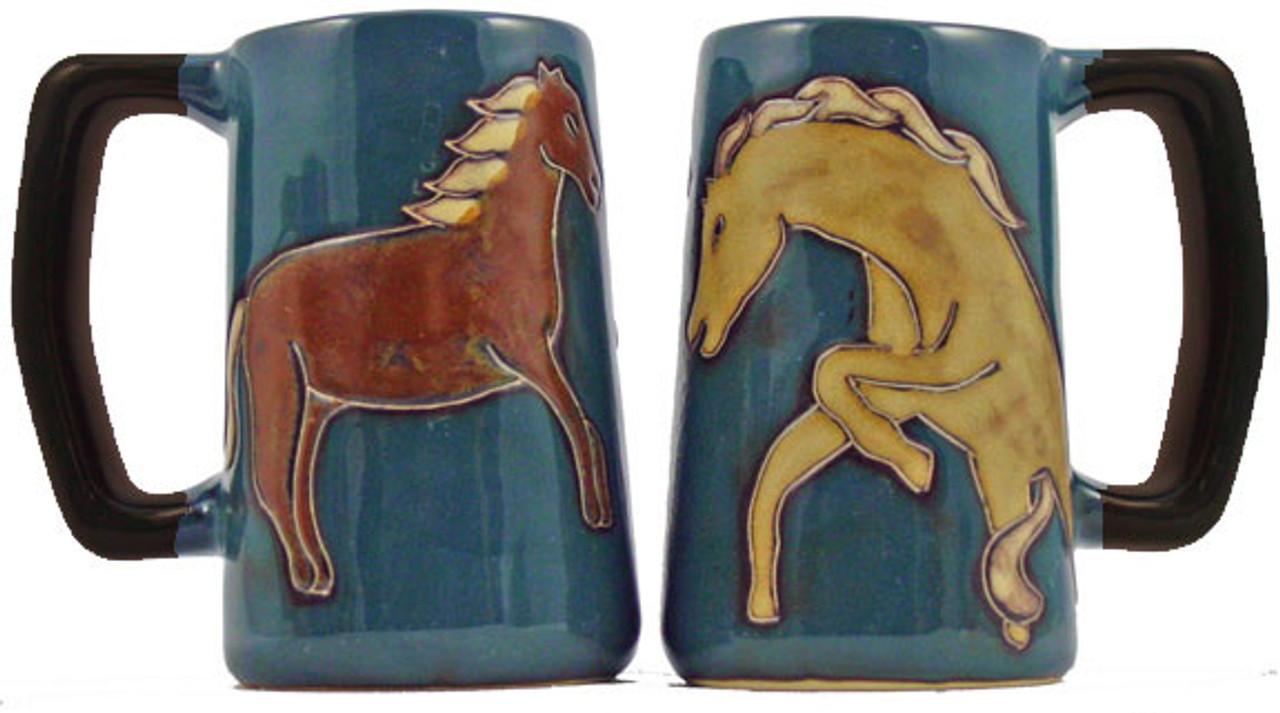 Mara Stein 16oz - Horses