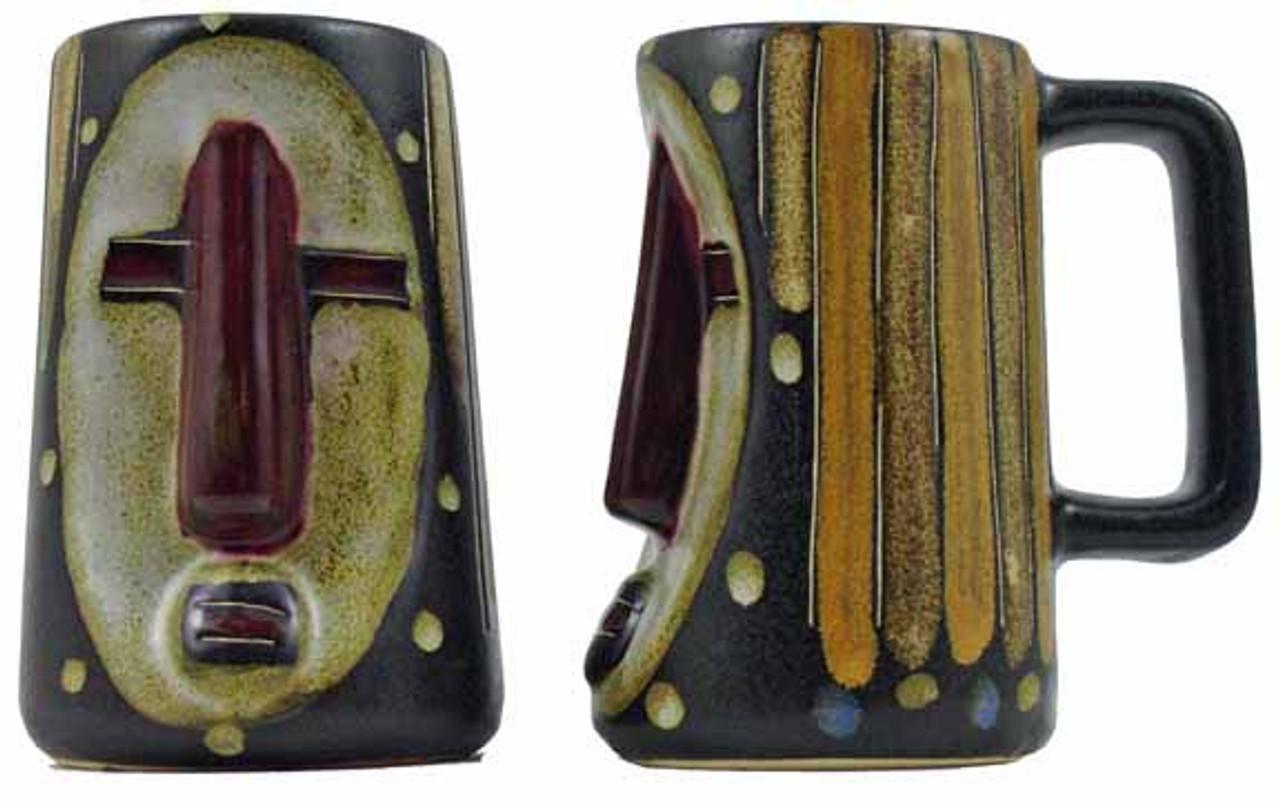 Mara Sculpted Stein 15oz - Oval Mask
