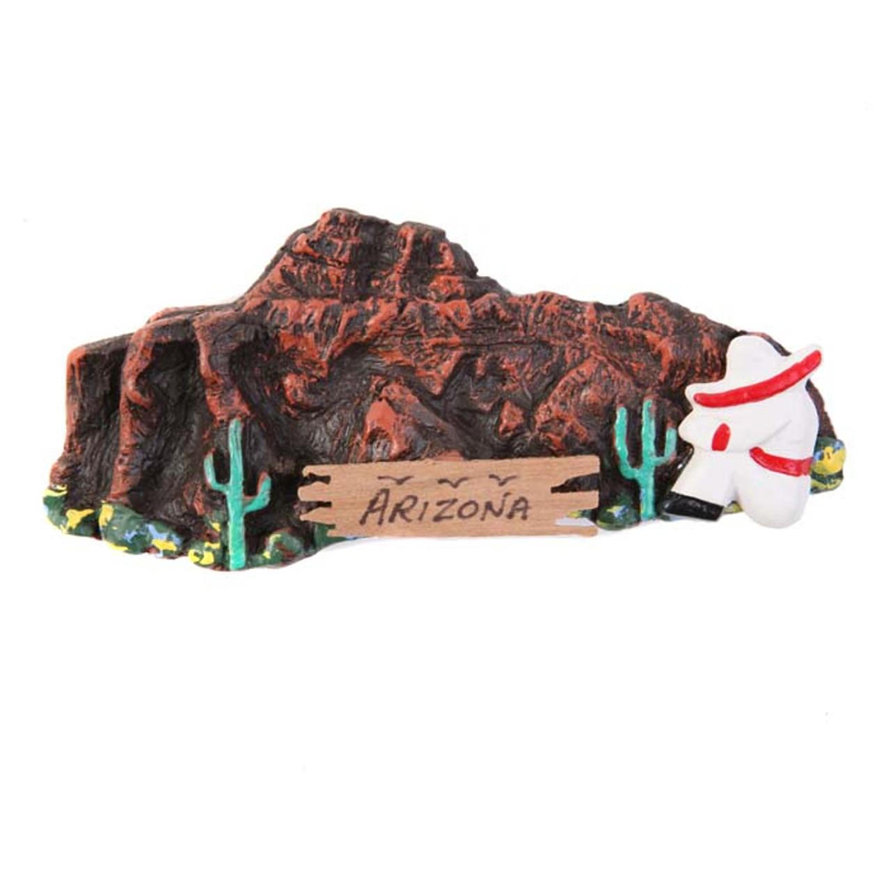 Mountain View Siesta Magnet
