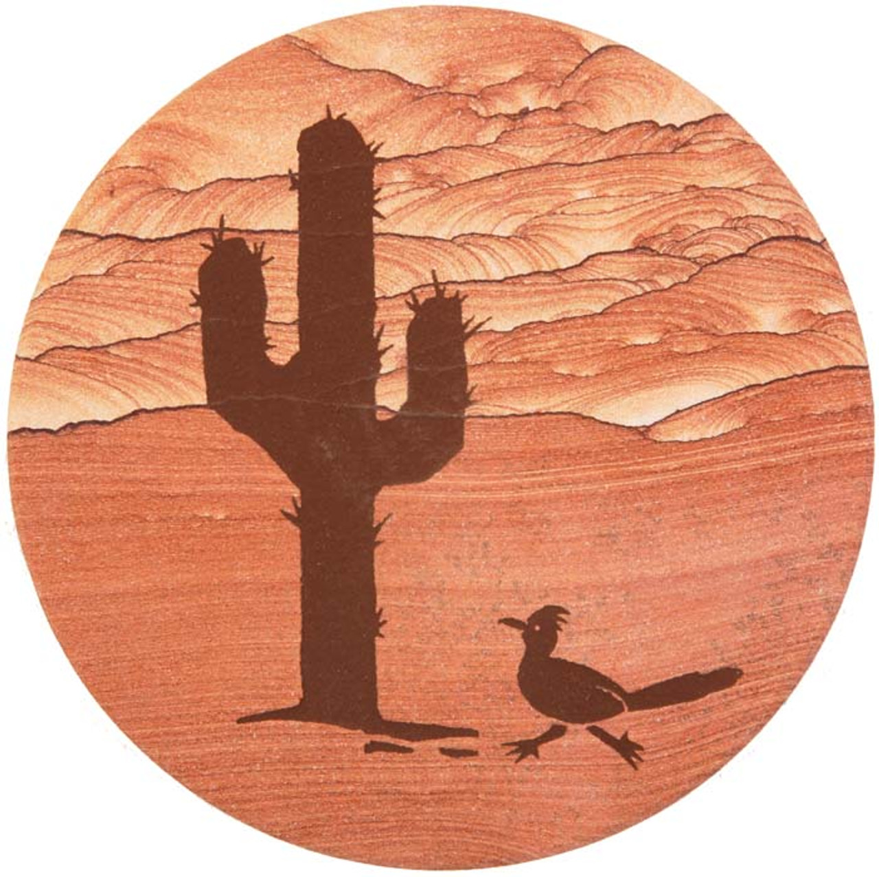 Cactus w/ Roadrunner