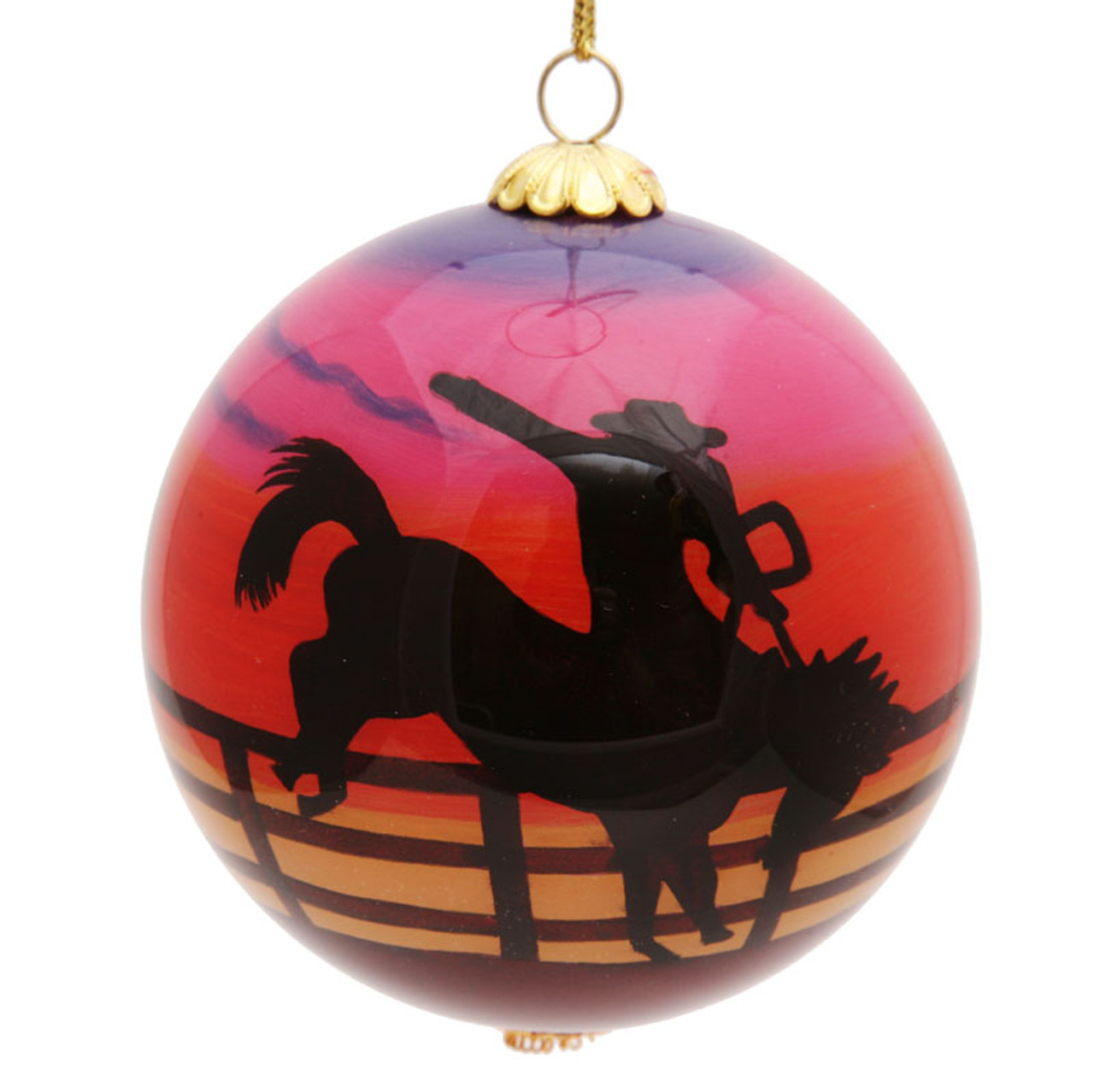 "Rodeo - 3"" Ornament Set of 2"