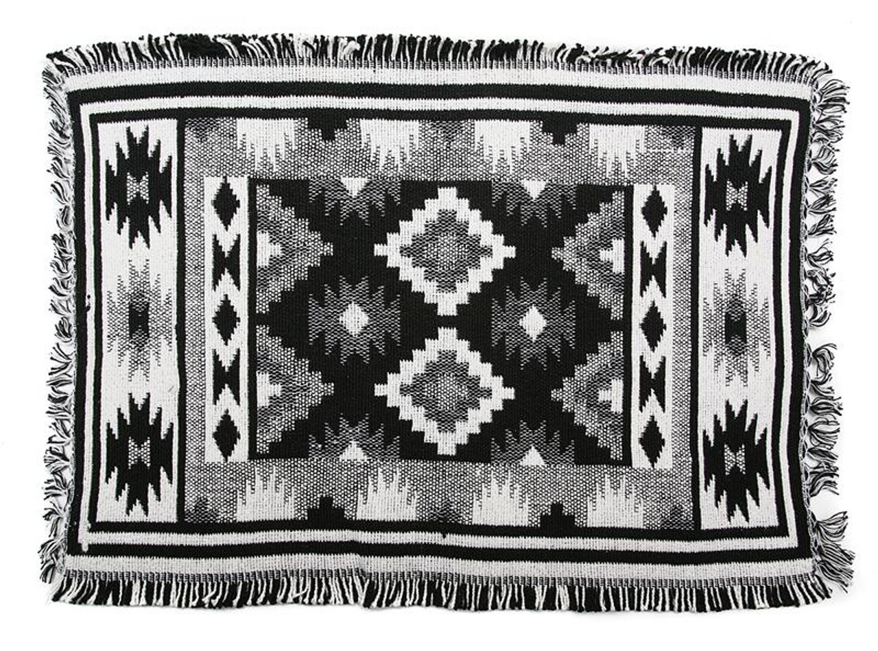 Mohave Black/White Placemat