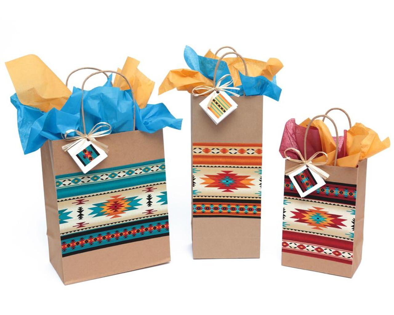 Indian Blanket Gift Bag