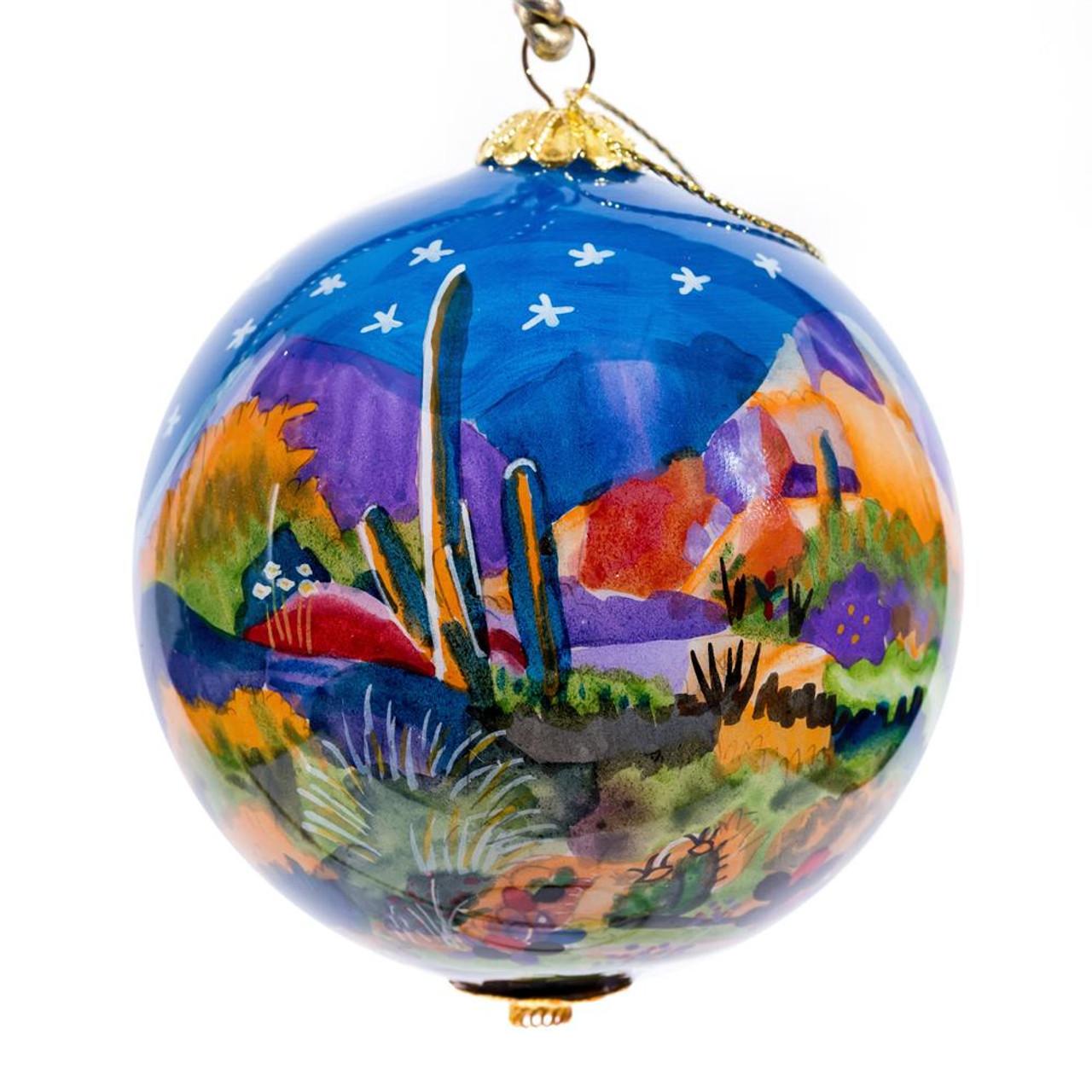 """Boulder Light - 3"""" Ornament Set of 2"""