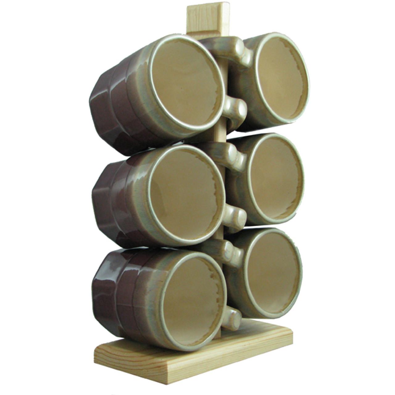 Padilla Traditional, 16oz Mugs - Set of 6
