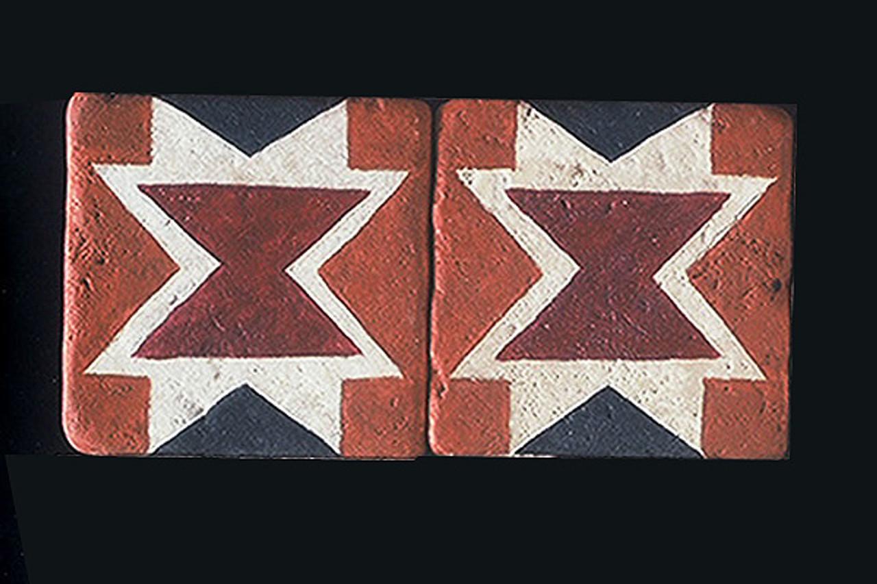 "Menomini 3""x3"" Border Tile"