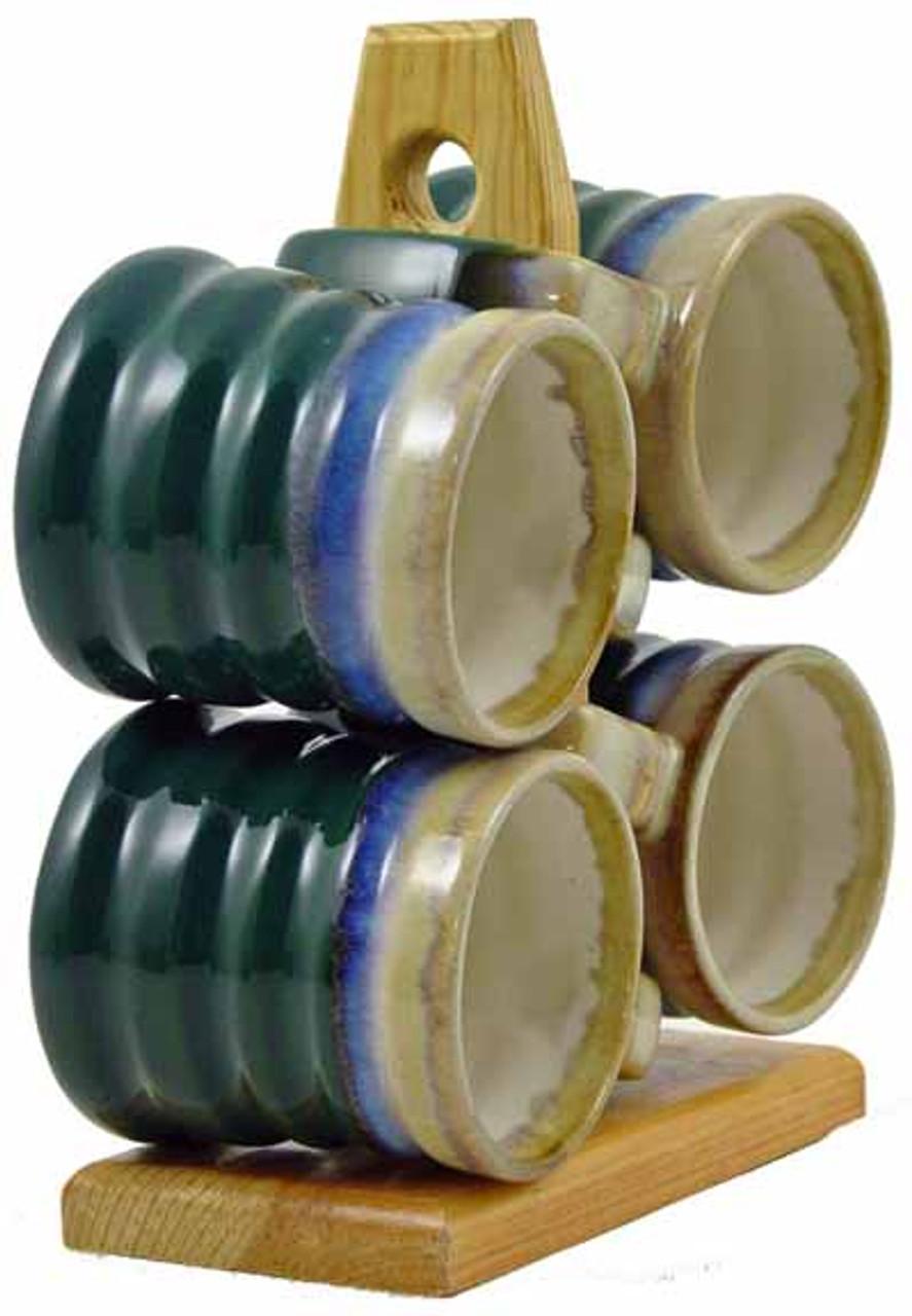 Padilla Hand-To-Hand, 14oz Mugs - Set of 4