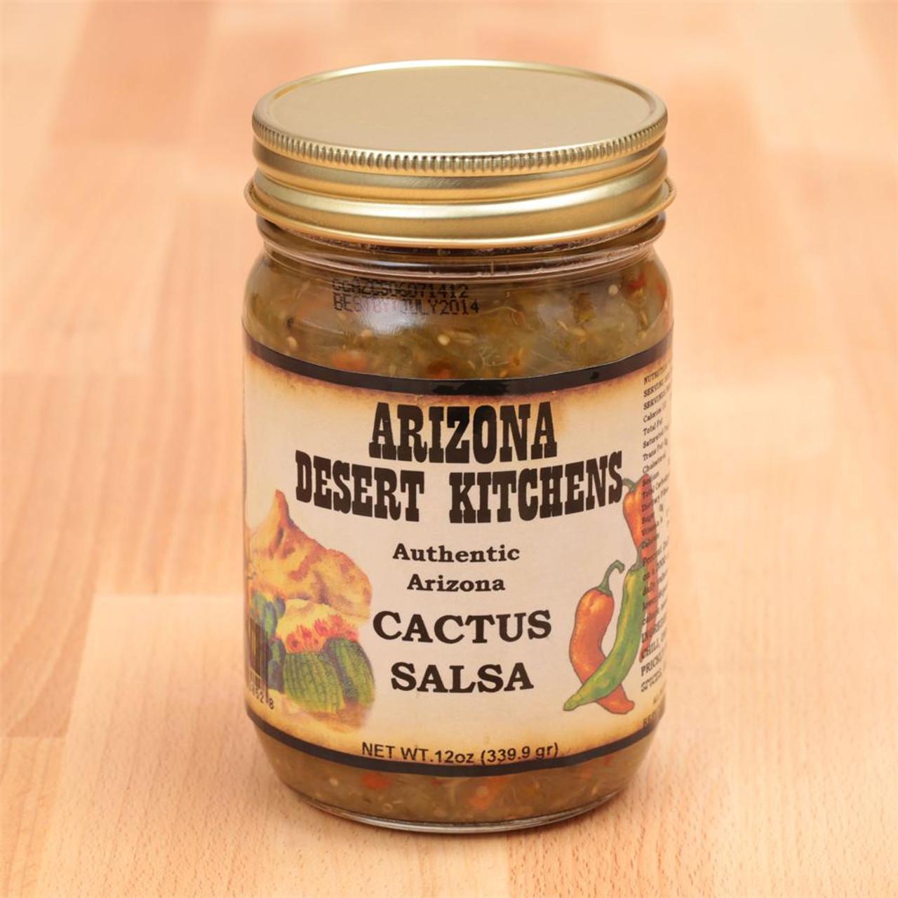 Cactus Salsa 12oz