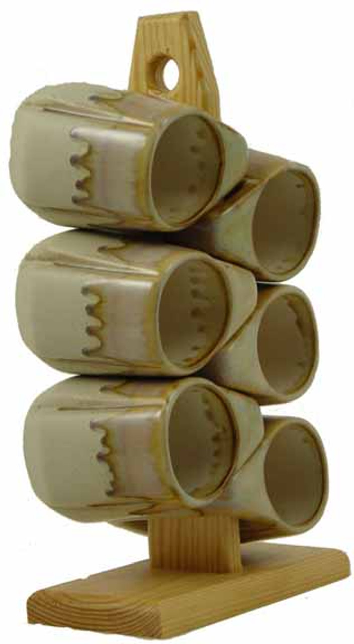 Padilla Round Rim - 12oz Mugs - Set of 6