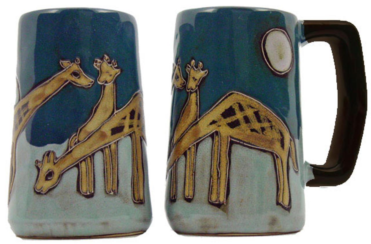 Mara Stein 16oz - Giraffes