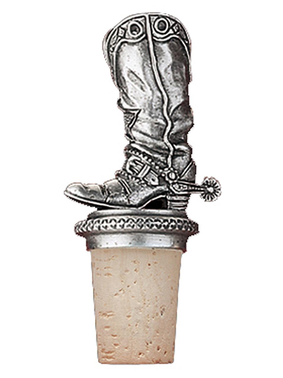 Cowboy Boot Bottle Stopper