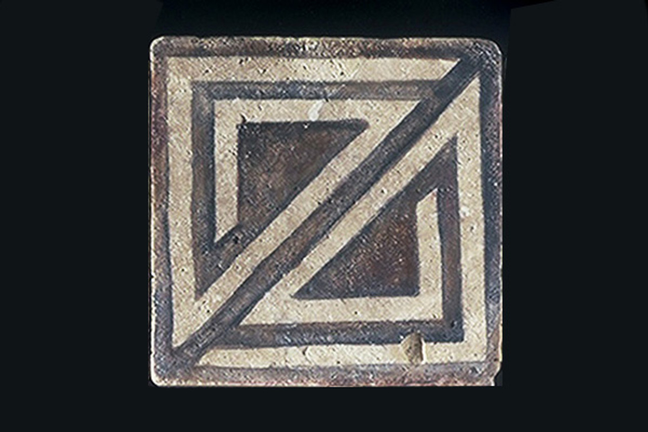 """Exit Trail of Life 4""""x4"""" Border Tile"""