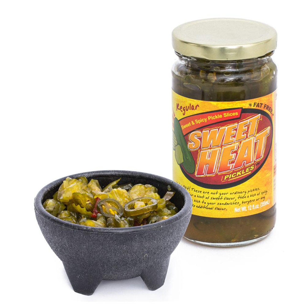 Sweet Heat Pickles 12oz