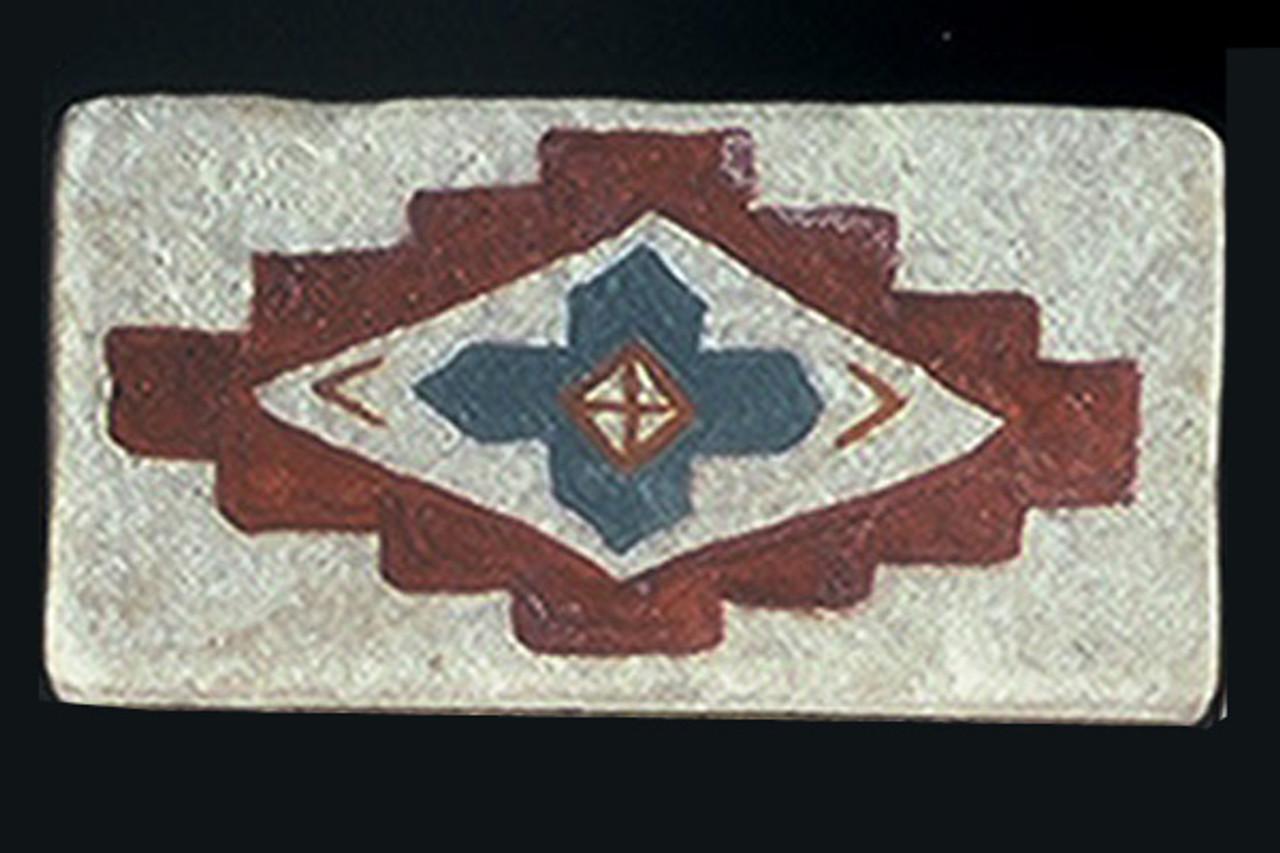 "Native Cross #1 2""x4"" Border Tile"