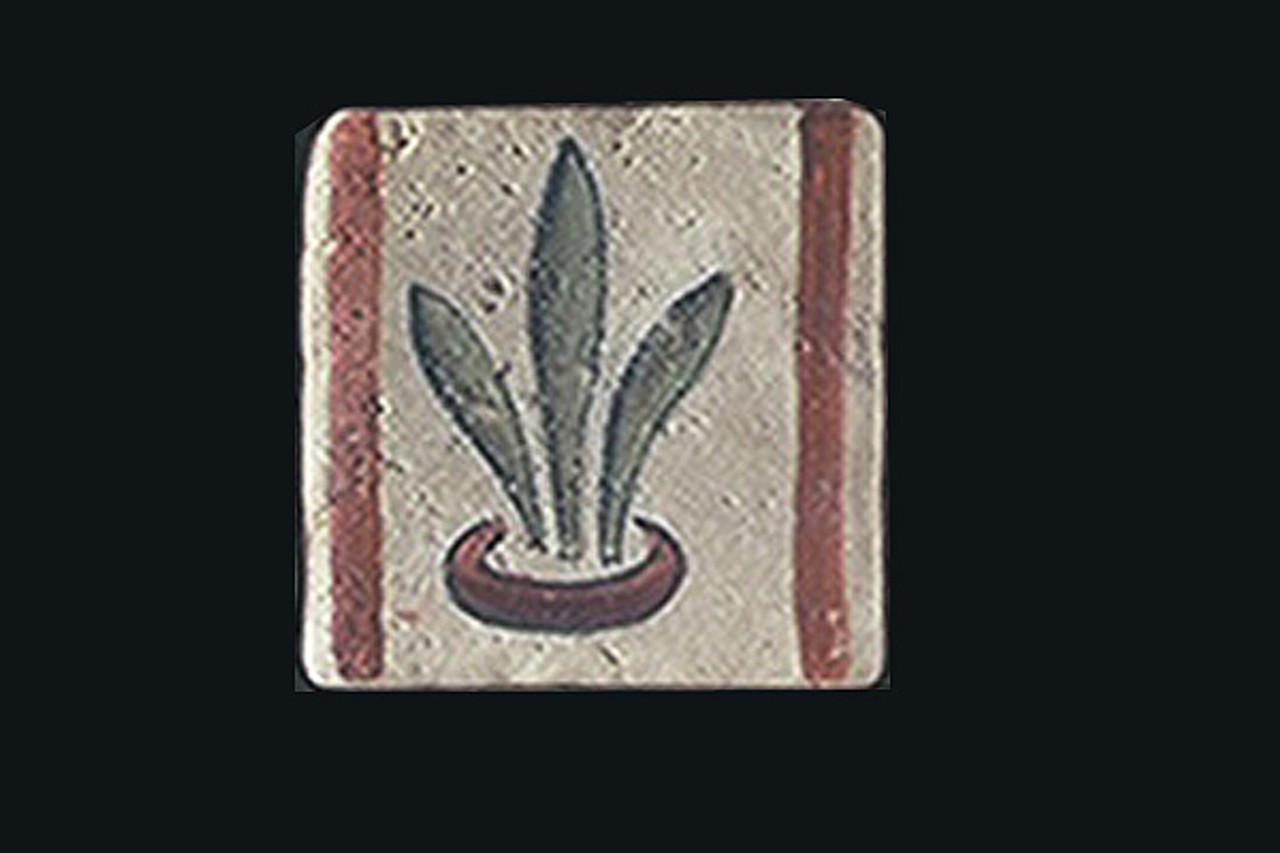 """Old World Crest 2""""x2"""" Border Tile"""