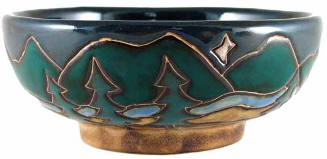 Mara Serving Bowl 24oz - Mountains