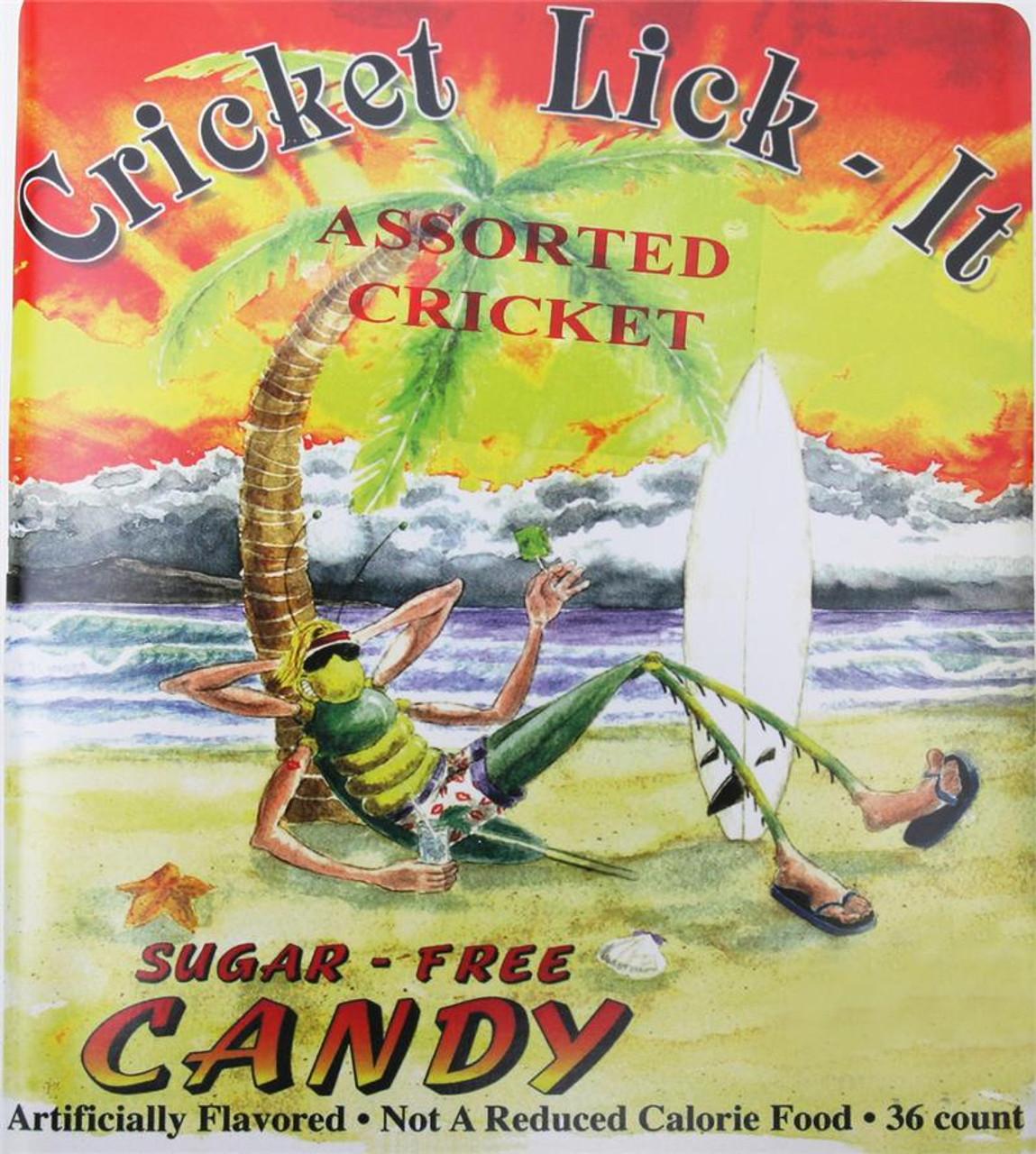 Cricket Lollipops - Case of 36