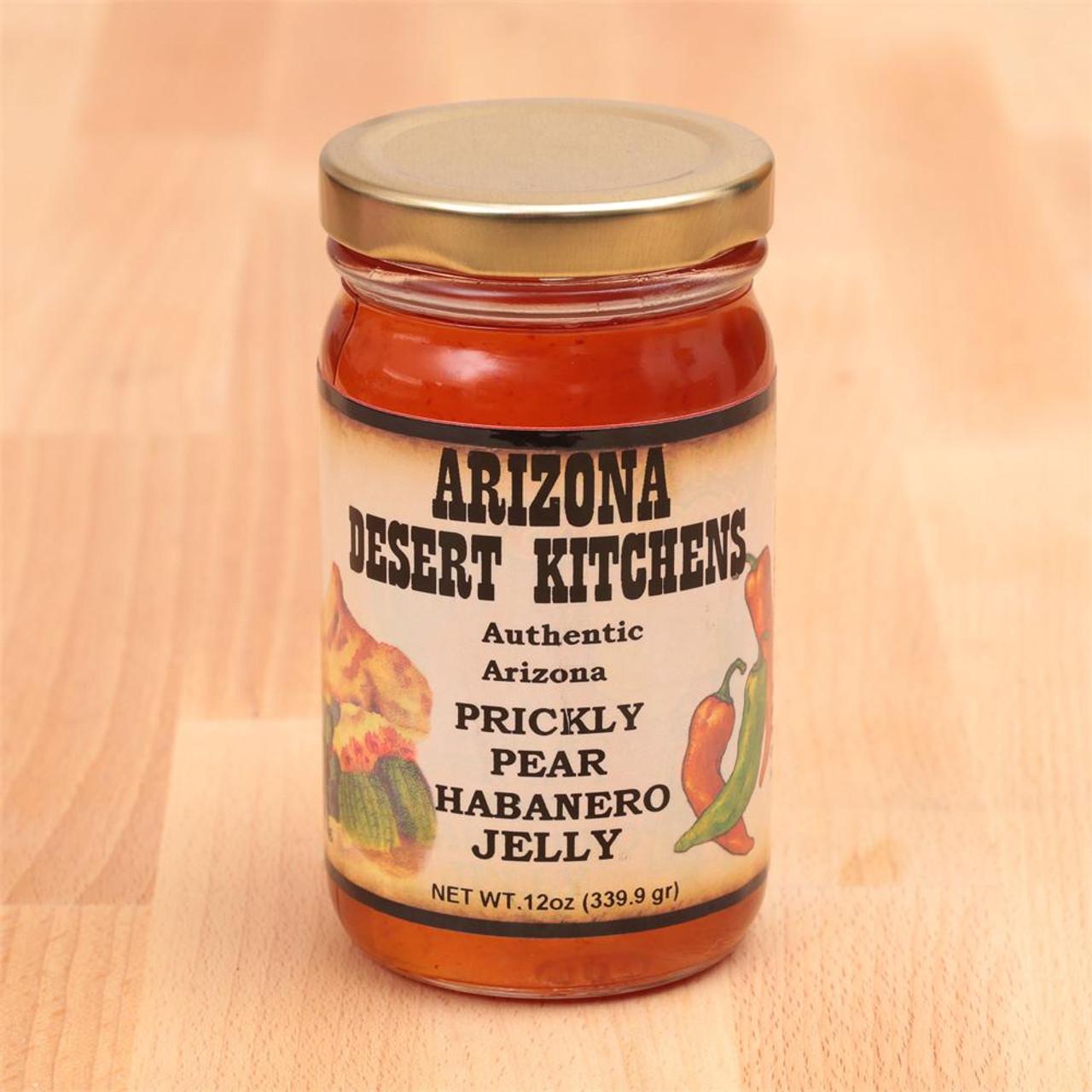 Gourmet Prickly Pear Habanero Jelly 10oz
