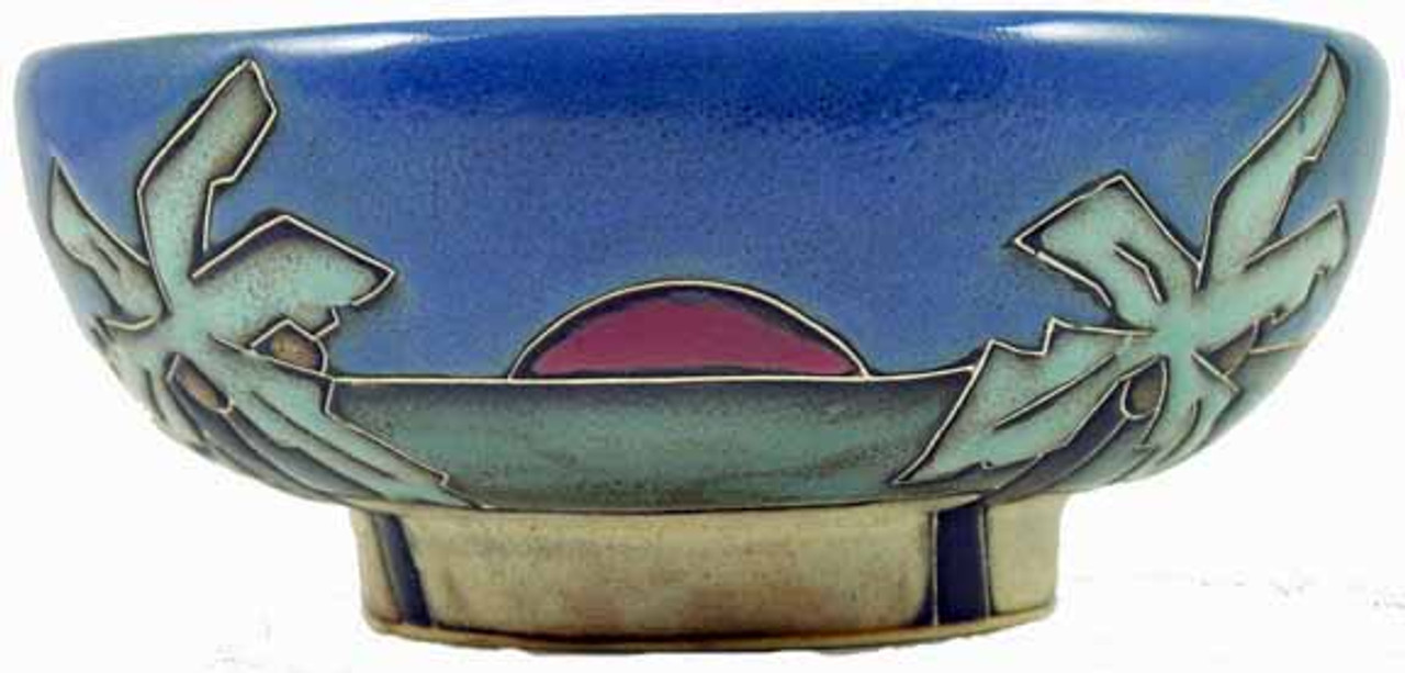 Mara Serving Bowl 24oz - Palm Trees / Beach