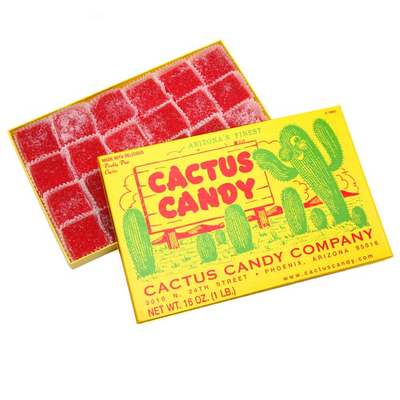 Box Cactus Candy 1lb-Case of 6