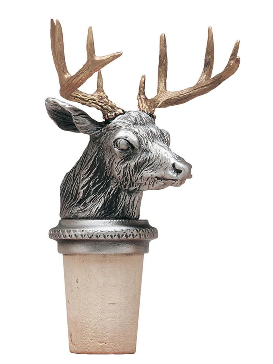 Whitetail Deer Bottle Stopper