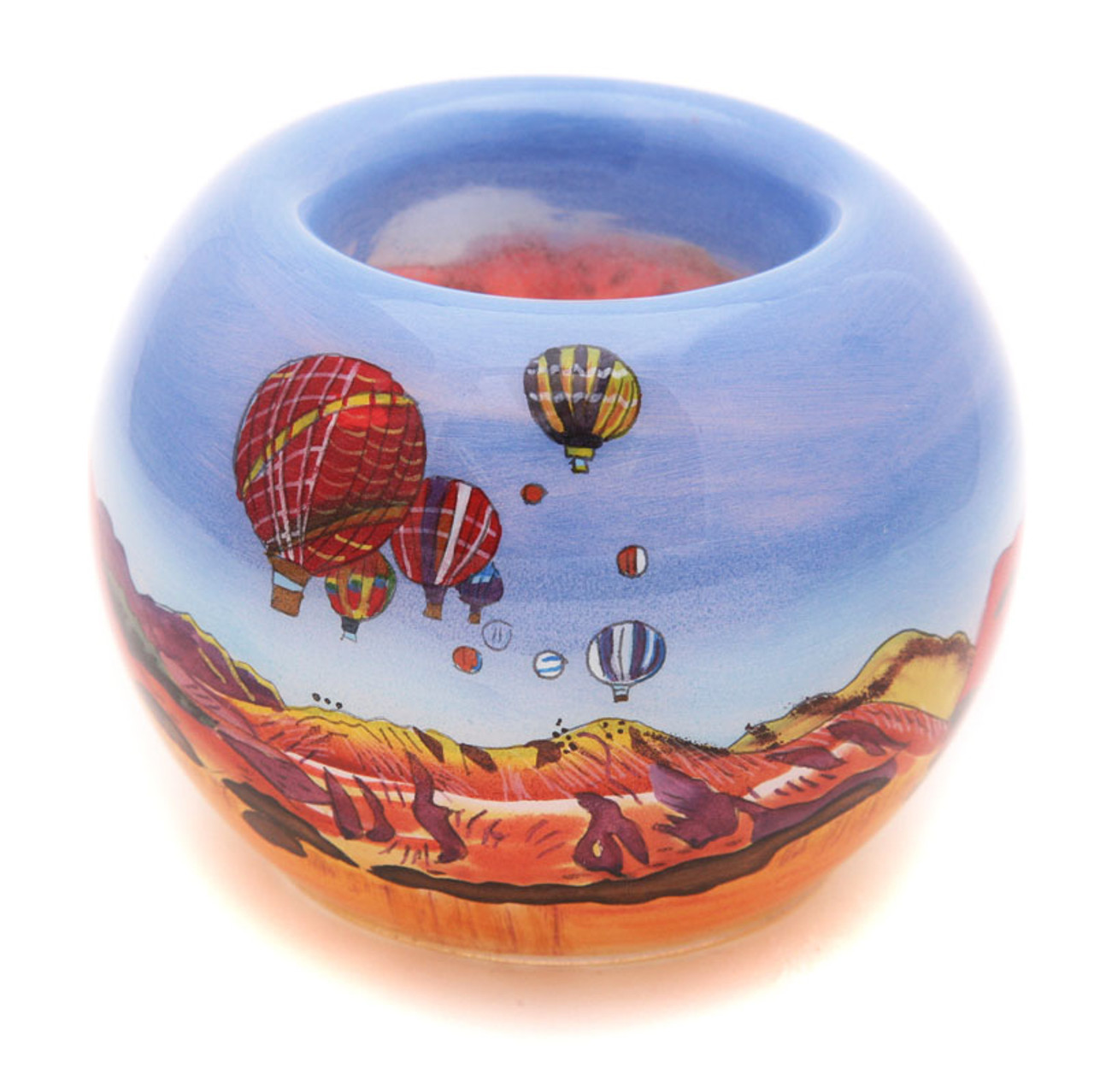 "Balloons with Mesas - 3"" Votive Set of 2"