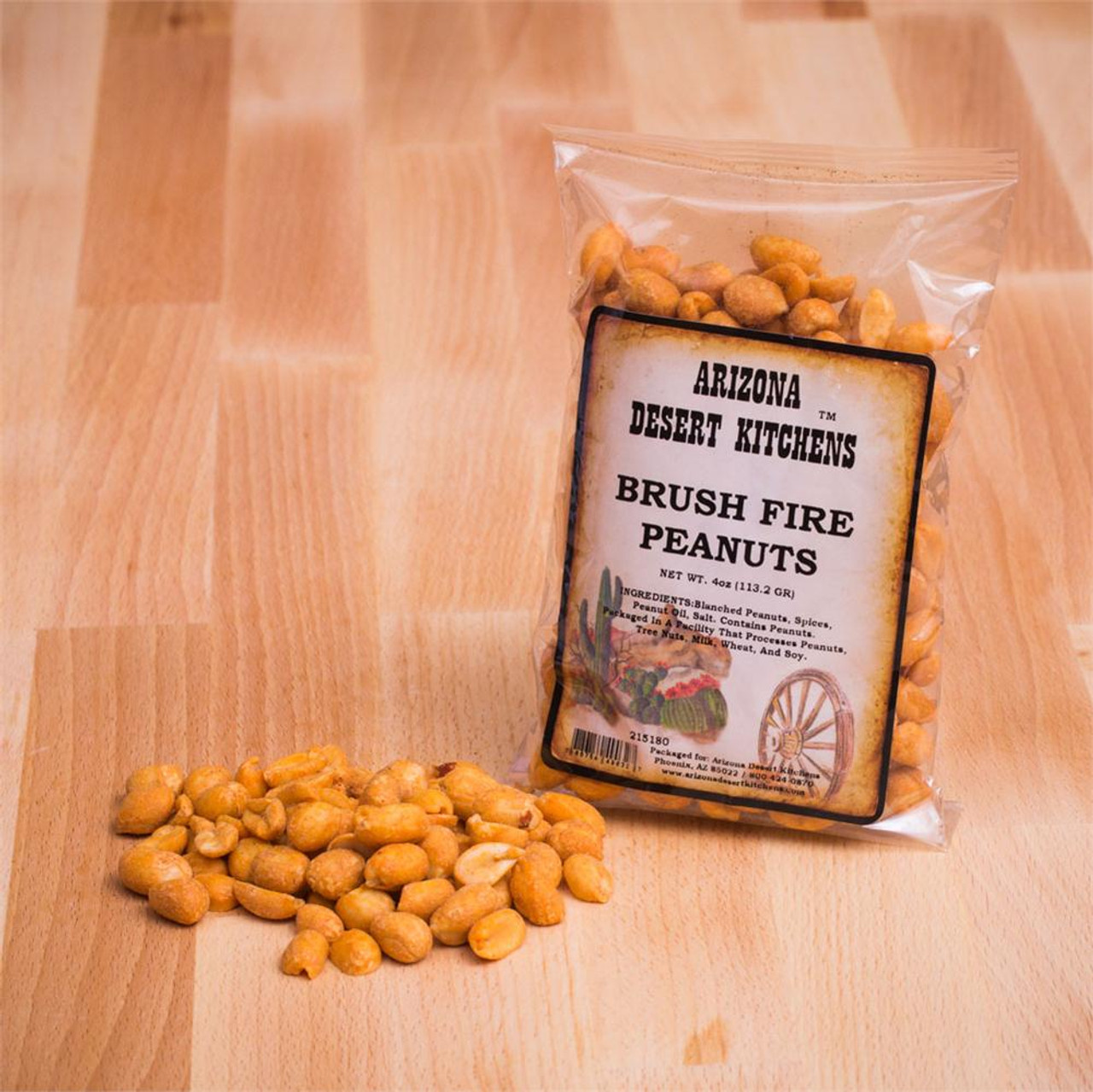 Brush Fire Spicy Peanuts 4oz